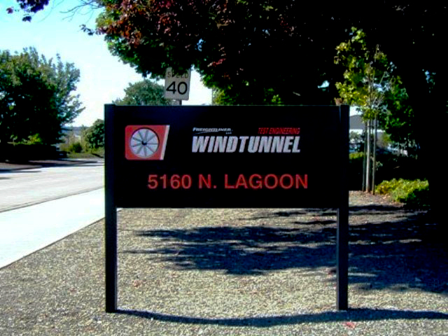 Aluminum Post & Panel Sign