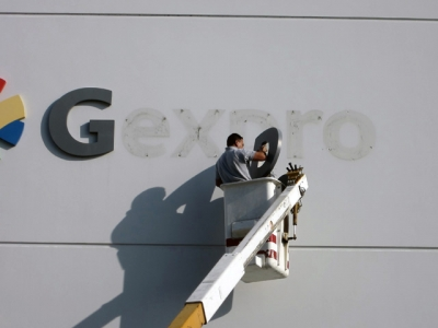 Sign removal of aluminum letters