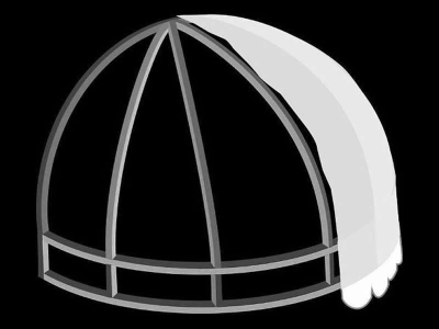 Dome With Truss And Valance