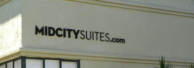 Business Signs Los Angeles-Midcity Suites