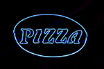 Neon sign Los Angeles-picture of Pizza