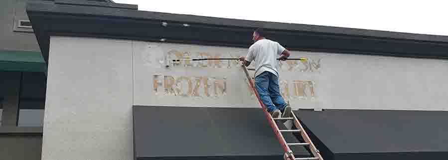 Sign Removal Los Angeles 5
