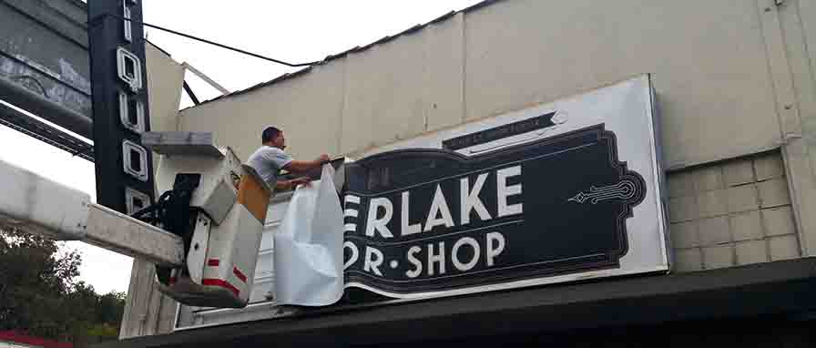 Sign Removal Los Angeles 6