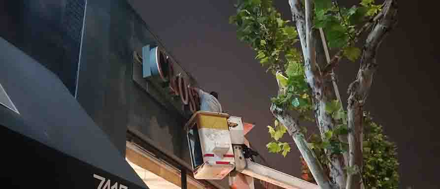 Sign Removal Los Angeles 7